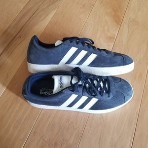 Adidas Sambas Sneakers Blue and White